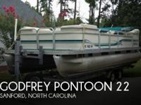 2000 Godfrey Pontoon 22 - Stock #086541 -