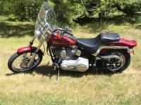 The 2000 1200 Sportster Harley Davidson is like new