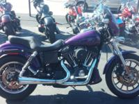 2000 HARLEY FXDX. STOCK WITH 15,760 ORIGINAL MILES.