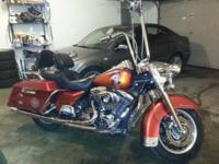 2000 Harley Davidson FLHR Road King. 2000 Harley