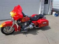 2000 Harley Davidson FLHT Street Glide. This touring