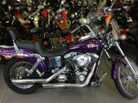 It defies convention. 2000 Harley-Davidson FXDWG Dyna