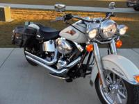 We have a beautiful 2000 Harley Davidson Heritage