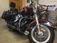 2000 Harley Davidson Heritage Softail, Engine: 88cc,