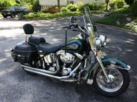 2000 HD Heritage Classic, it has 15k miles and has just