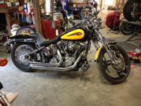 2000 HD Springer Softail Screamin Eagle edition with