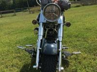 2000 Harley-Davidson Fatboy FLSTF with an upgraded