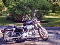 For sale is a 2000 Harley Davidson Sportster. Bike