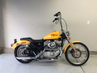 2000 Harley-Davidson Sportster with 18,804 miles.