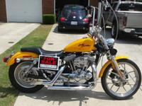 I have a 2000 Harley Davidson Sportster 883. It is a