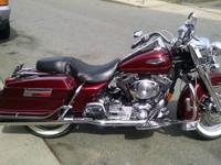 2000 Harley road king Fuel injected 1450cc 5 speed,