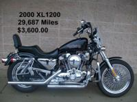 This 2000 model XL 1200 with 29,687 miles is in