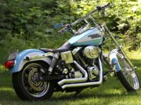 2000 Harley, Dyna Wide-Glide Custom: 2-seat's w/lot's