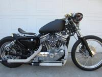Custom made Harley bobber from GB-Custom Built. I've