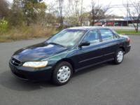 Up for sale is a 4 cylinder 2000 Honda Accord in great