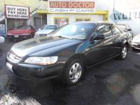 2000 Honda Accord -Ex - Coupe - 4 cylinder - Only 125k