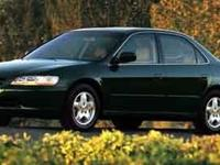 Come test drive this 2000 Honda Accord! You'll