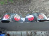 these r used aftermarket blacked out tail lights. the
