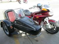 2000 Honda Gold Wing GL1200 Interstate with Velorex
