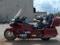 2000 HONDA GOLDWING 1500 SE 25TH ANNIVERSARY MODEL
