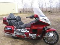 2000 Honda Goldwing GL1500 SE 25th Anniversary Edition