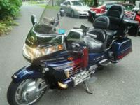 This is a 2000 Honda GL1500 SE Goldwing 25th