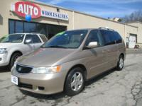 Solid and great running Honda Odyssey minivan for a
