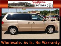 Options Included: 2nd Row Bucket Seats, 4-Speed A/T,
