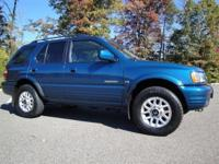 Options Included: N/A2000 Honda Passport LX 4X4 SUV.