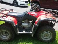 Very good condition Honda Rancher. 2,289 miles and runs