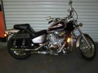 This is a very nice 2000 Honda shadow 600 with 17k
