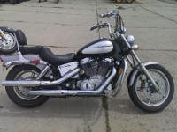 2000 Honda Shadow Spirit salvage With plenty of power