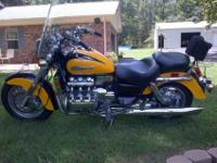 2000 Honda Valkyrie, GL1500C F6 Engine 6cyl unusual