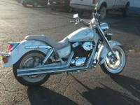 It comes equipped with Vance and Hines Longshot pipes