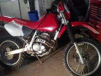 2000 Honda XR250R low hours, just rebuilt and cleaned