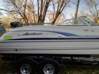 2000 HURRICANE 237 SUNDECK FOR SALE!!! Hurricane boats
