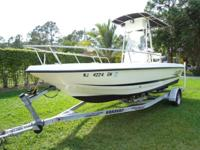 2000 Hydra Sport 22 Bay 22' Center Console Fishing