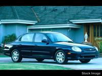 This White 2000 Hyundai Sonata GLS might be just the