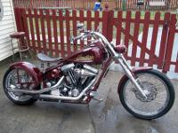 2000 CUSTOM INDIAN CHIEF .. FACTORY VIN.............S&S