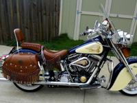 Actually amazing Indian Chief Roadmaster edition. The