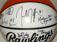 2000 Indiana All-Stars autographed by the boys' and