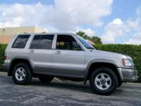 Options Included: N/A$3995 2000 ISUZU, TROOPER S MODEL
