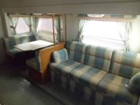 This a very nice used couples travel trailer. It looks