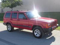Options Included: N/A2000 Jeep Cherokee Sport 4x4. Powe
