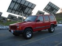 Options Included: Jeep Cherokee Sport, Bright Red, New