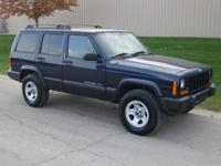 Options Included: N/A2000 Jeep Cherokee Sport 4x4. 2