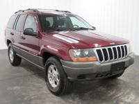 Options:  2000 Jeep Grand Cherokee Laredo Sport Utility