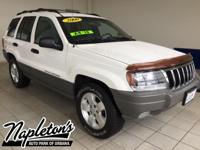 Recent Arrival! 2000 Jeep Grand Cherokee in White,