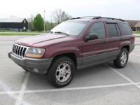 Options Included: N/A2000 Jeep Grand Cherokee Laredo