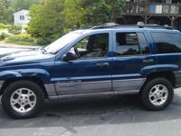 2000 Jeep Grand Cherokee Laredo, Medium Blue Metalic